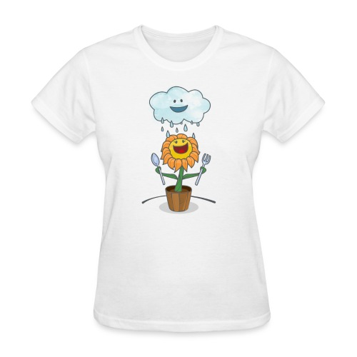 Cloud & Flower - Best friends forever - Women's T-Shirt