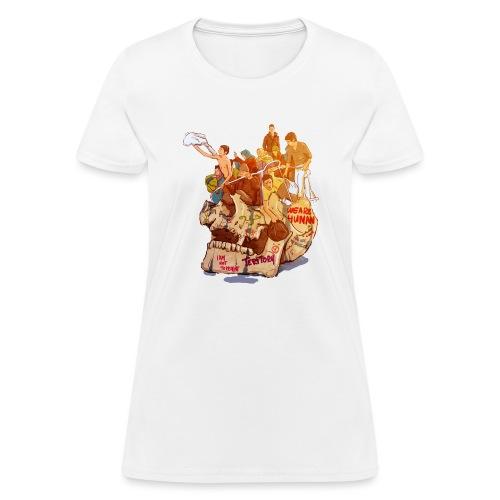 Skull & Refugees - Women's T-Shirt