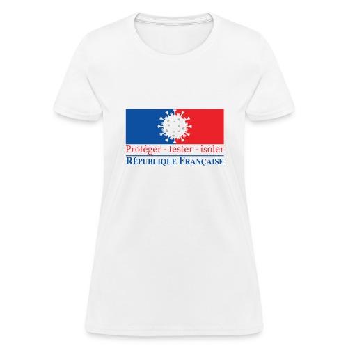 Protéger tester isoler - Women's T-Shirt