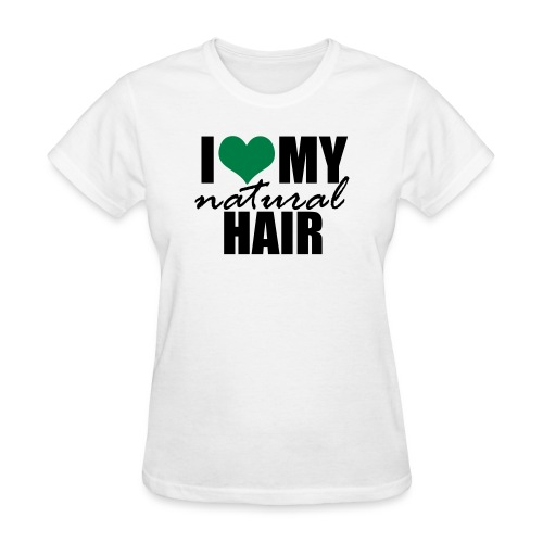 LOVE MY NH green - Women's T-Shirt