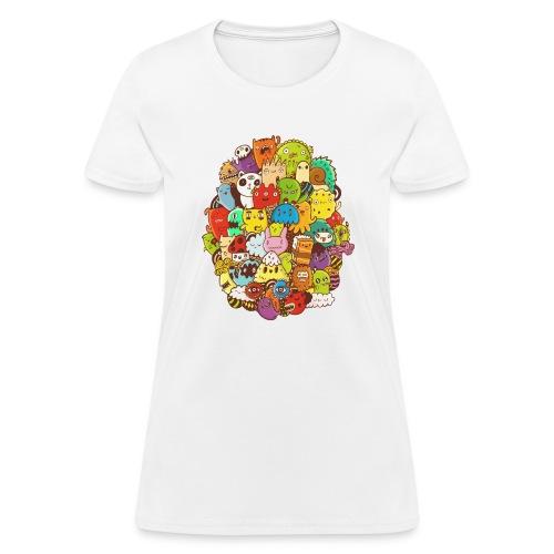 Doodle for a poodle - Women's T-Shirt