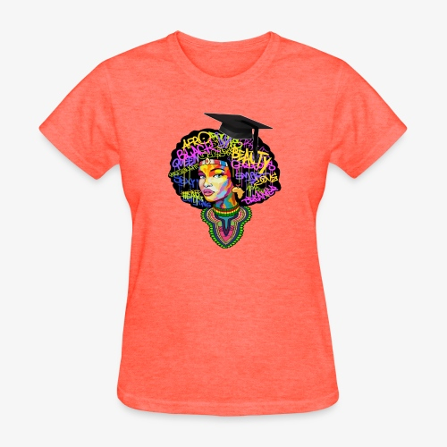 Graduation Melanin Queen Shirt Gift - Women's T-Shirt