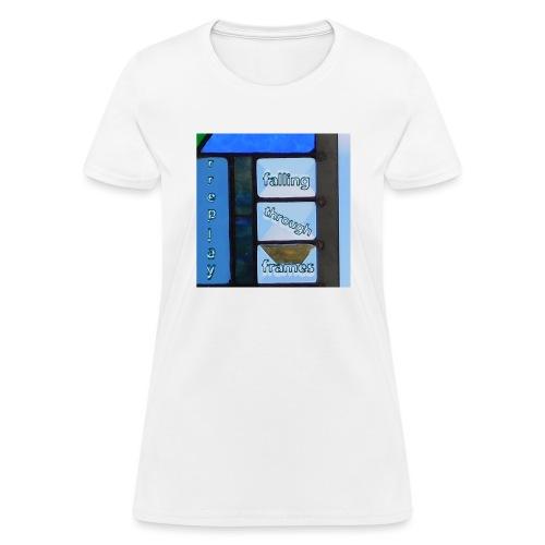 Falling Through Frames - rreplay - Women's T-Shirt