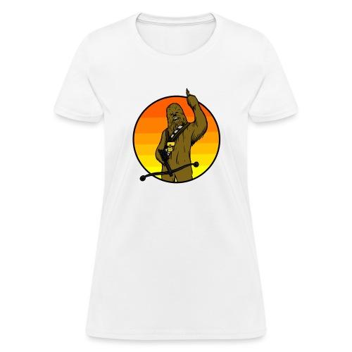 Chewie Gets a Medal - Women's T-Shirt
