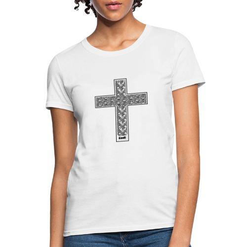 Jesus cross. I'm no longer a slave to fear. - Women's T-Shirt
