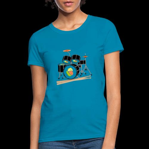 Sushi Roll Drum Set - Women's T-Shirt