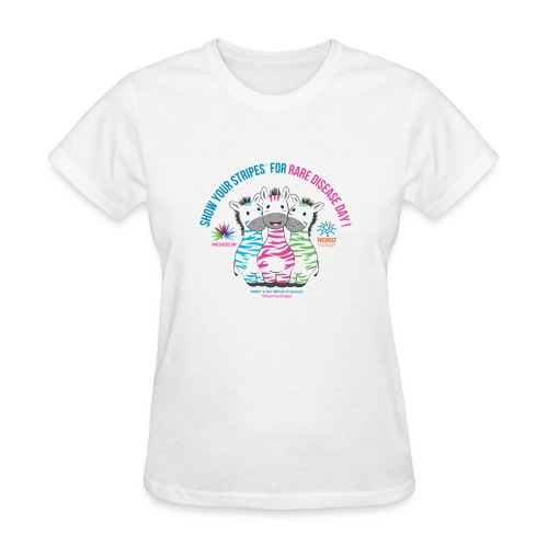 Show Your Stripes for Rare Disease Day! - Women's T-Shirt