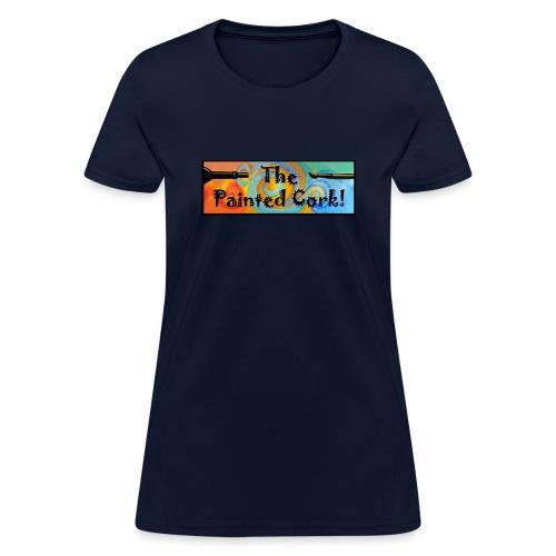 new Headerlogo brush and - Women's T-Shirt