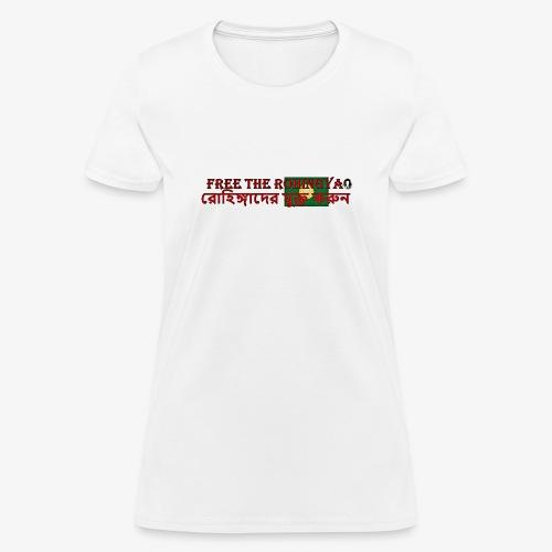Free the Rohingya - Women's T-Shirt