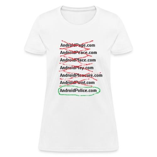 NAFality Design 1 For the lulz - Women's T-Shirt