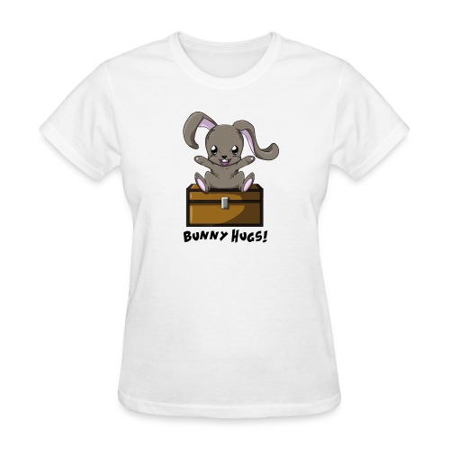 Emzy255 2 Bunny Hugs - Women's T-Shirt