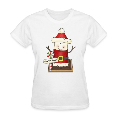 Christmas Smore2 png - Women's T-Shirt