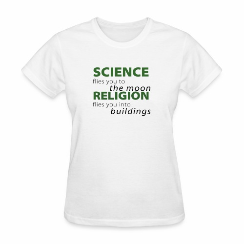 Science, Fly me to the Moon - Women's T-Shirt