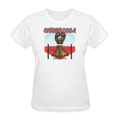 Chewblocca Volleyball Team Logo - Women's T-Shirt