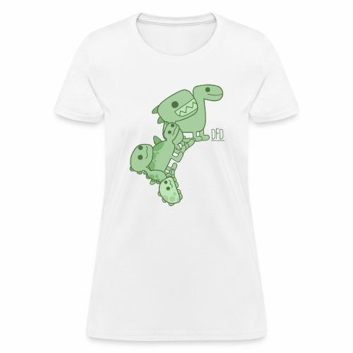 Dinosaur Army - Women's T-Shirt