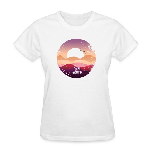 FFH DESIGN 1 black tshirt png - Women's T-Shirt