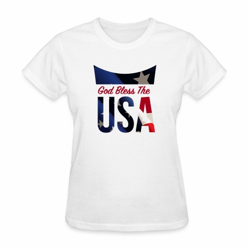 God Bless The USA Veterans T-Shirts - Women's T-Shirt