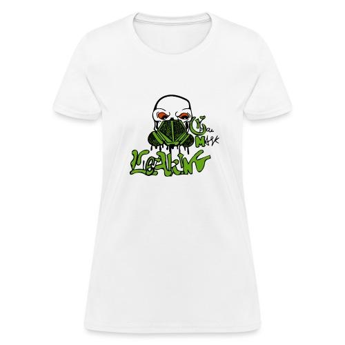 Leaking Gas Mask - Women's T-Shirt