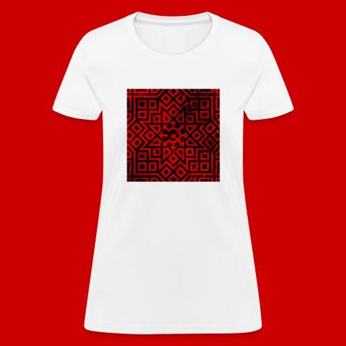 Detailed Chaos Communism Button - Women's T-Shirt