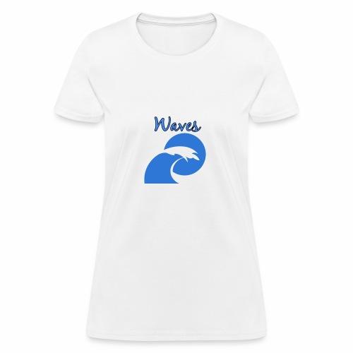 Waves - Women's T-Shirt