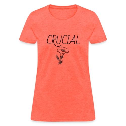 Crucial Abstract Design - Women's T-Shirt