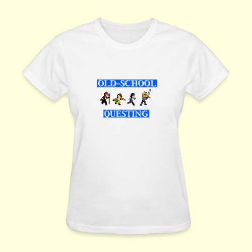 Old School Questing - Women's T-Shirt