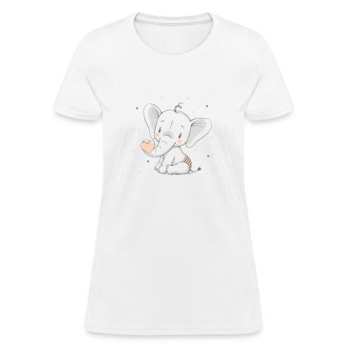 Baby elephant - Women's T-Shirt