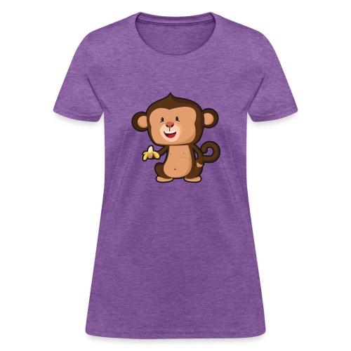 Baby Monkey - Women's T-Shirt
