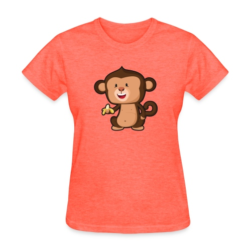 Baby Monkey - Women's T-Shirt