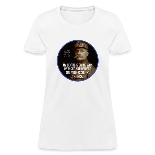 Foch: I Attack - Women's T-Shirt