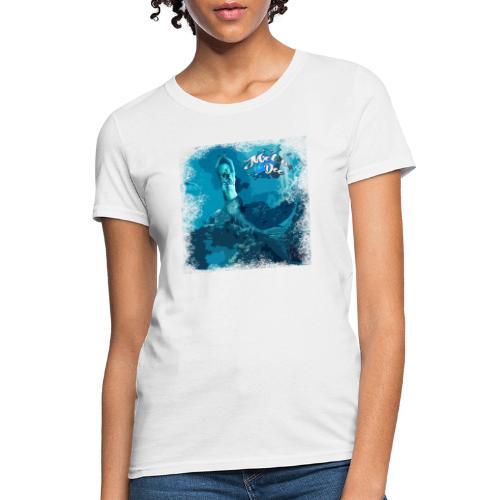 MEL*O*DEE Blue Mermaid Fantasy - Women's T-Shirt