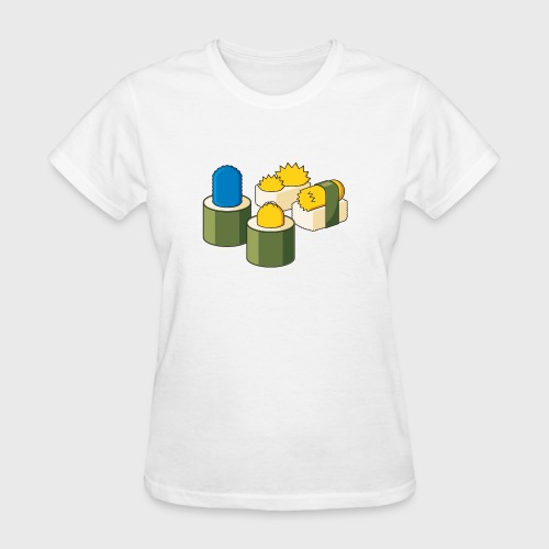 The Simpsons Sushi - Women's T-Shirt