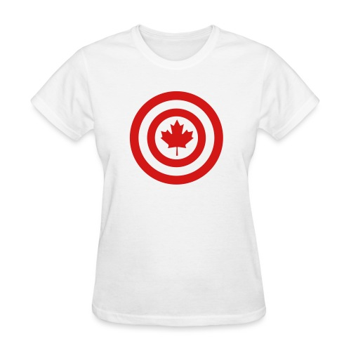 Captain Canada - Women's T-Shirt