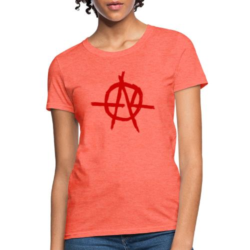 Anarchy (Red) - Women's T-Shirt