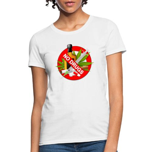 drug clipart drug addiction - Women's T-Shirt