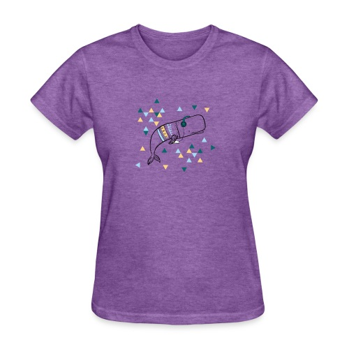 Music Whale - Women's T-Shirt