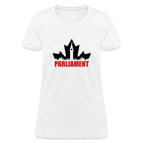 Canadian Parliament - Women's T-Shirt