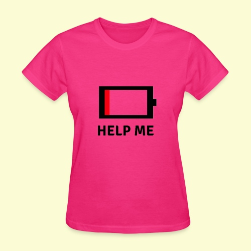 Help me - low battery - Women's T-Shirt