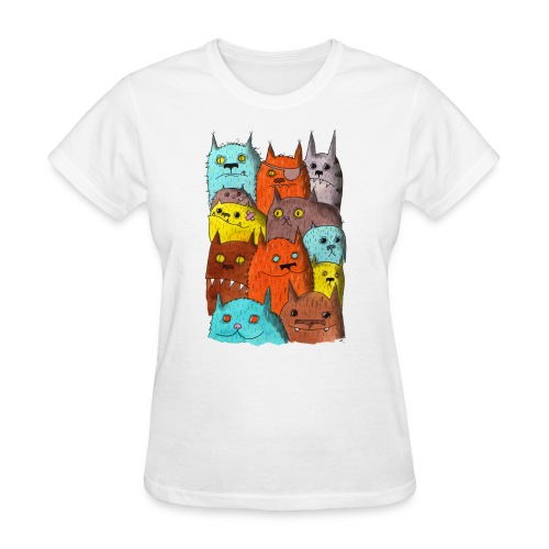 The Cats of Meow Tyson B - Women's T-Shirt