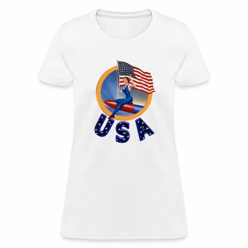 Flag USA - Women's T-Shirt