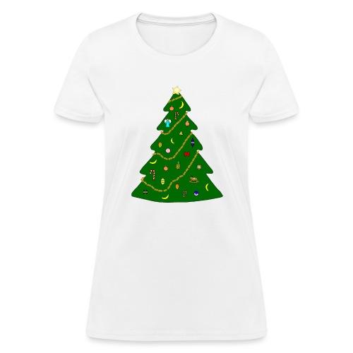 Christmas Tree For Monkey - Women's T-Shirt
