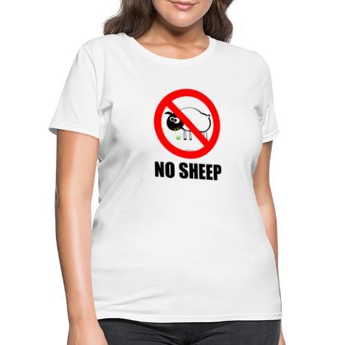 NO SHEEP™ TEE - Women's T-Shirt