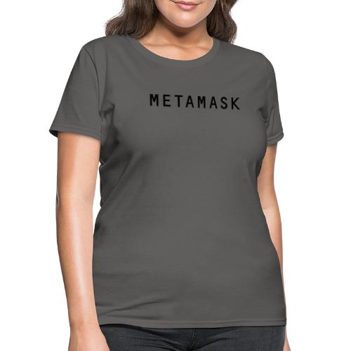 MetaMask Wordmark - Women's T-Shirt