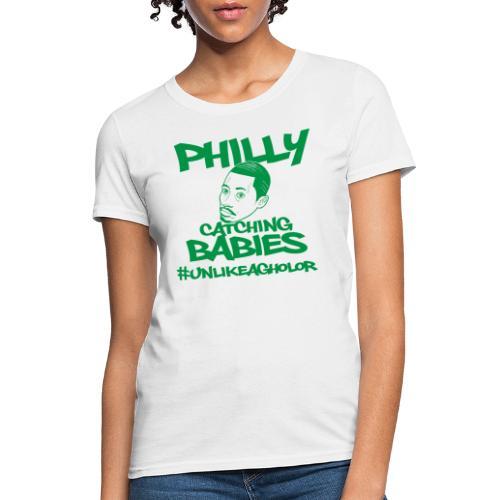 #UnlikeAgholor Green - Women's T-Shirt