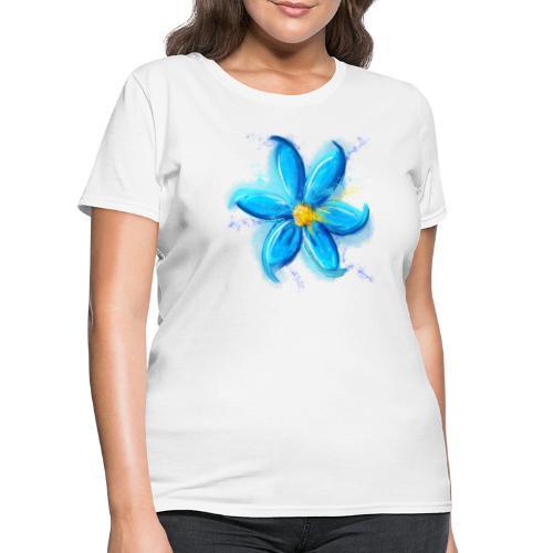 Blue Flower - Women's T-Shirt