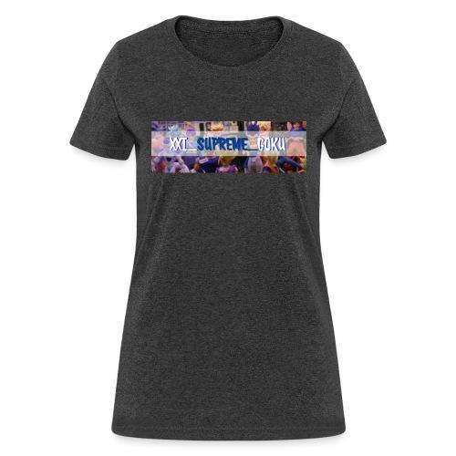 XXI SUPREME GOKU LOGO 2 - Women's T-Shirt