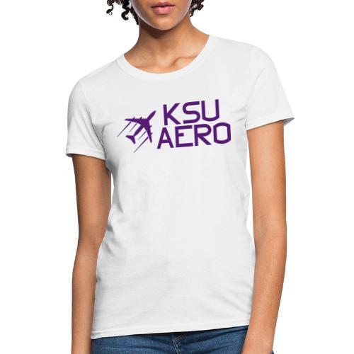 Logo Purple dark text - Women's T-Shirt