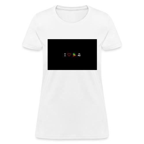 i love reggae music - Women's T-Shirt
