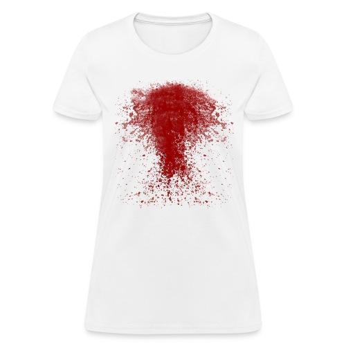 bloody shirt long trns - Women's T-Shirt