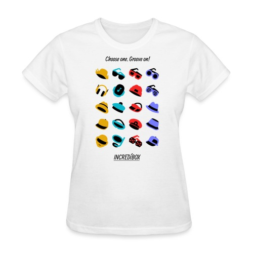 visu-pictos-v4 - Women's T-Shirt